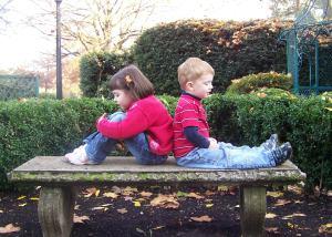 Little Josh and Hannah